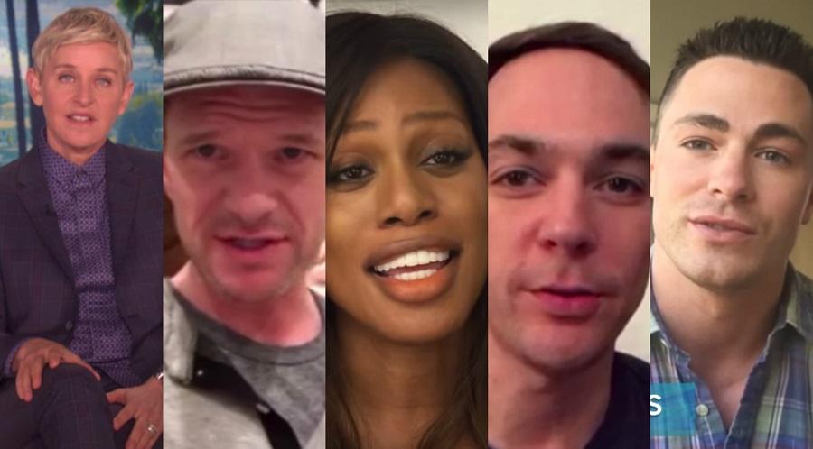 VÍDEO: Ellen e um time de celebs agradecem a Obama pelas conquistas à comunidade LGBT