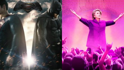 """Batman vs Superman"" e documentário sobre Hillary Clinton dominam o ""Framboesa de Ouro 2017″"