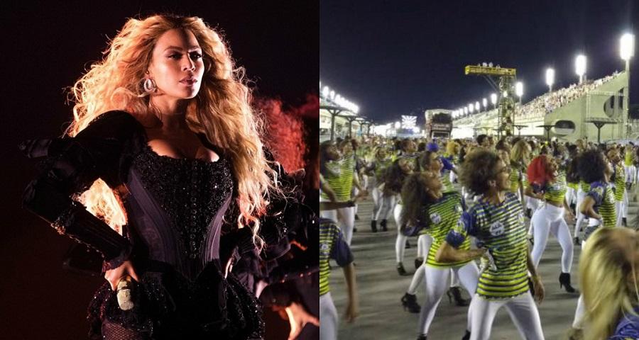 VÍDEO: Ala em homenagem a Beyoncé arrasa em ensaio técnico da Unidos da Tijuca