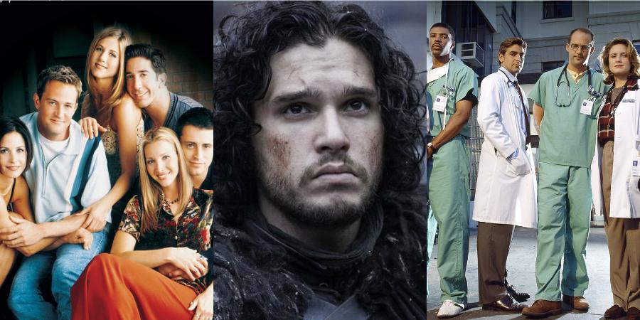 """""""GOT"""", """"Friends"""", """"ER""""…: As sete séries mais caras da TV (por episódio)!"""