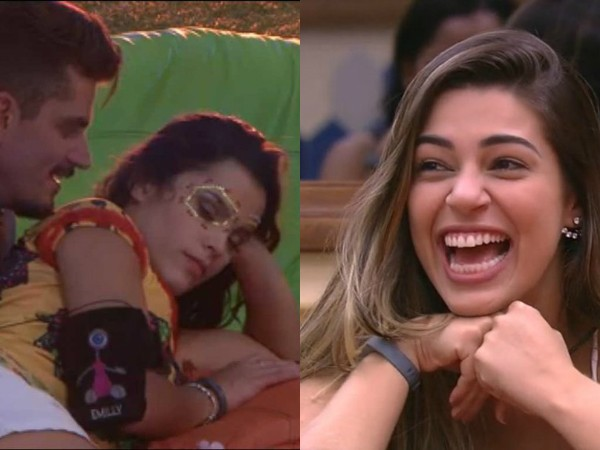 Marcos Emilly Vivian BBB17