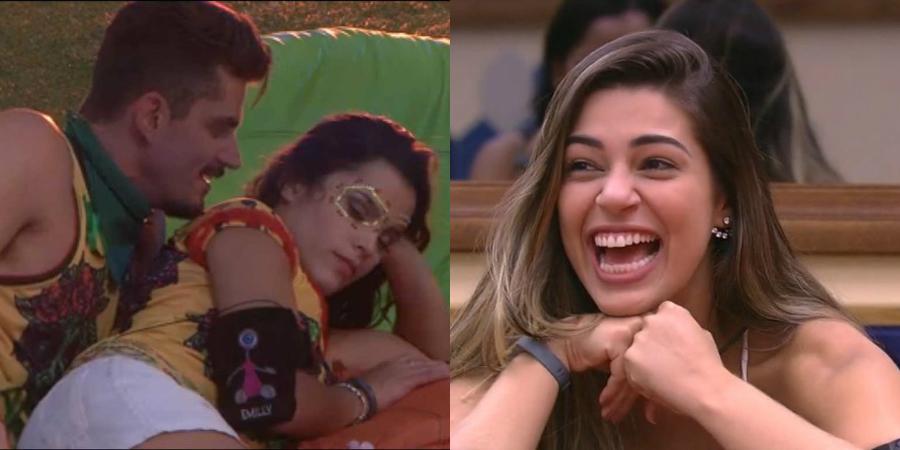 BBB17: Marcos provoca Emilly com Vivian e gaúcha dá ultimato