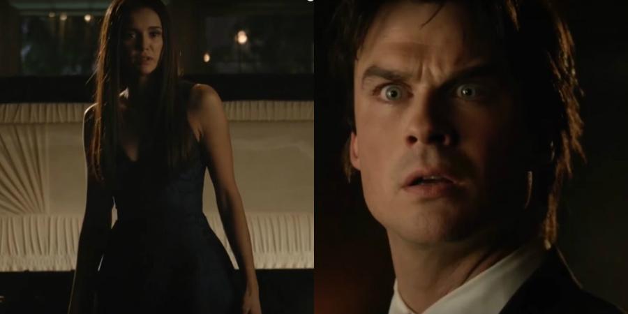 The Vampire Diaries: Divulgada cena do encontro de Damon e Elena; vem ver!
