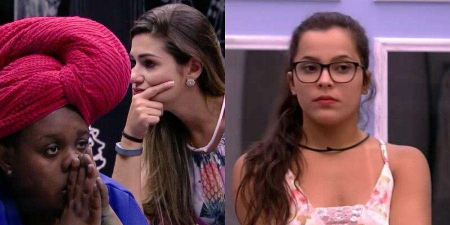 """BBB17: Vivian e Roberta detonam Emilly; Daniel faz observação sobre """"olhar"""" da sister"""