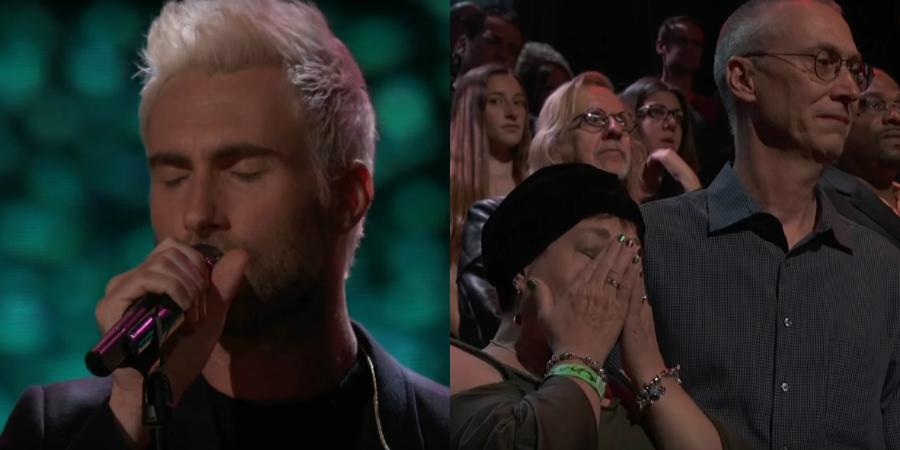 Adam Levine e seu time do The Voice fazem homenagem emocionante a Christina Grimmie