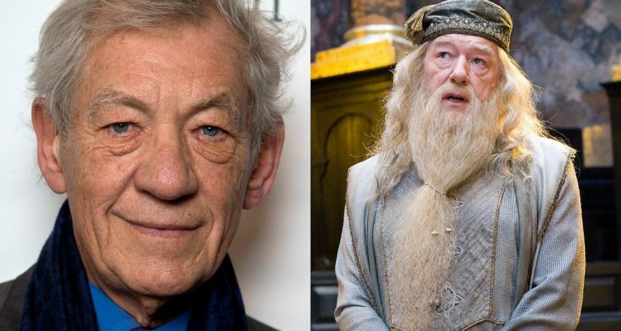 """Ian McKellen revela o porquê de ter recusado fazer Dumbledore nos filmes de """"Harry Potter"""""""