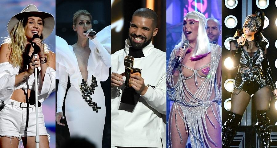 Drake domina o Billboard Music Awards 2017; veja as performances e os vencedores