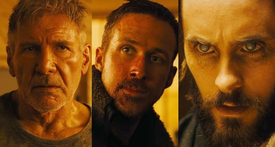 "Com Ryan Gosling; Harrison Ford e Jared Leto, ""Blade Runner 2049"" ganha novo trailer; vem assistir"