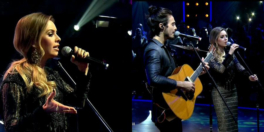"""Sandy arrasa em performance de """"Desperdiçou"""" e canta a linda """"Me Espera"""" com Tiago Iorc no """"Dancing Brasil"""""""