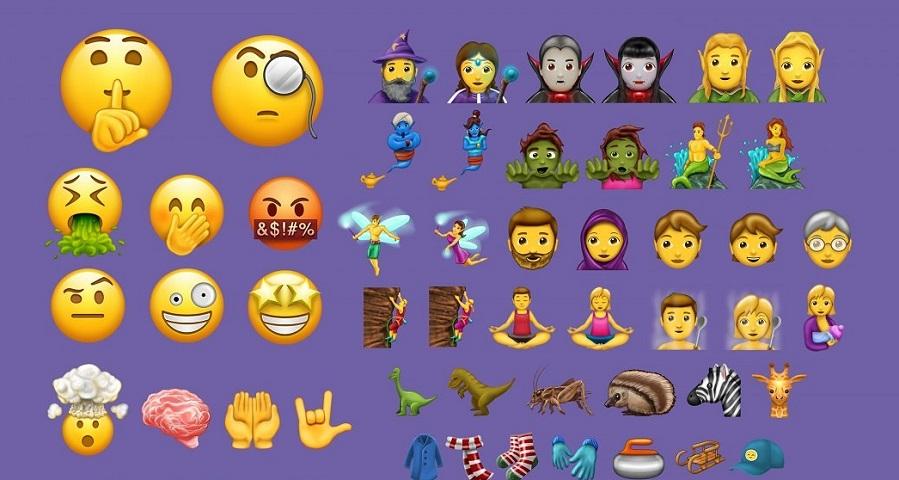 """Fada, sereia e """"gênero neutro"""": Conheça os novos emojis que estarão disponíveis em breve"""