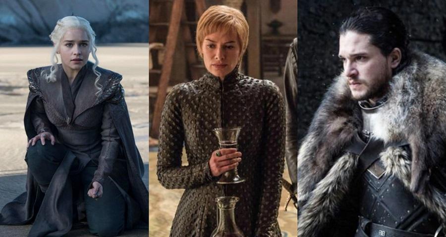"""Cersei, Jon Snow e Daenerys aparecem em imagens inéditas de """"Game of Thrones"""""""