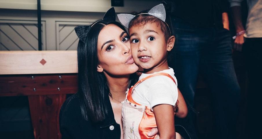 Kim Kardashian celebra aniversário de 4 anos de North West com vídeo fofo; vem ver