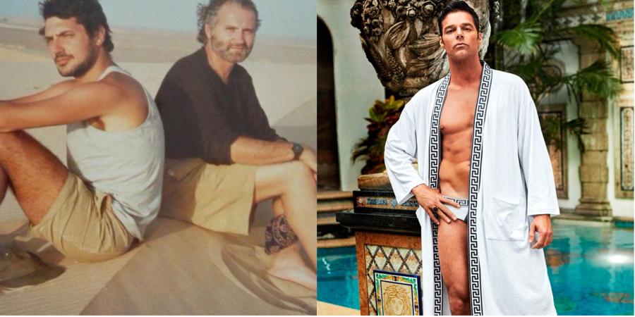 Ex-namorado de Gianni Versace critica foto de Ricky Martin em série sobre morte de estilista