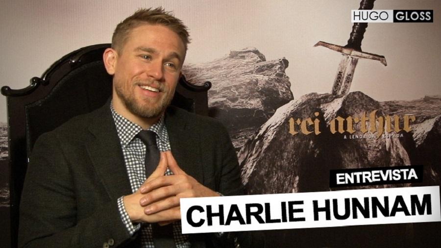 """Entrevista com Charlie Hunnam, o magya de """"Rei Arthur: A Lenda da Espada"""""""