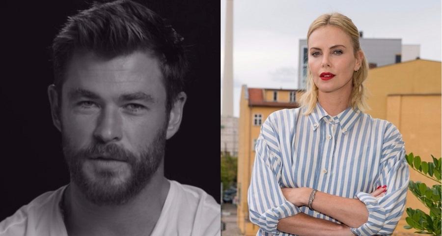 Chris Hemsworth quer que Charlize Theron seja o próximo James Bond!