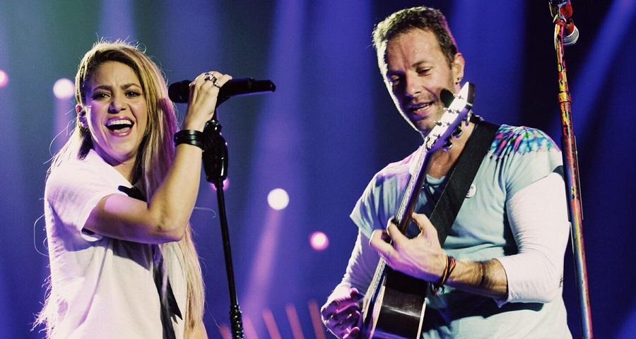 Shakira e Coldplay cantam grandes sucessos no Global Citizen Festival; vem assistir