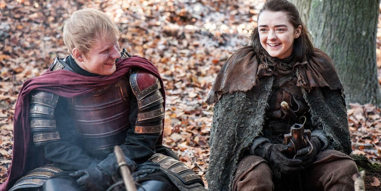 """Ed Sheeran canta em cena de """"Game of Thrones""""; vem assistir"""