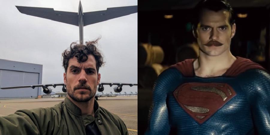 """MUSO! Henry Cavill brinca com suposto """"Superman de Bigode"""" em comunicado"""