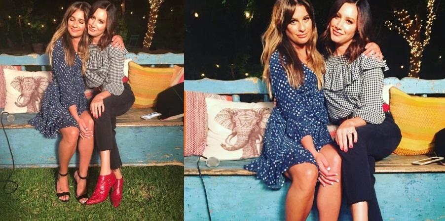 """LINDAS! Ashley Tisdale e Lea Michele emocionam em dueto de """"Dancing On My Own""""; assista!"""