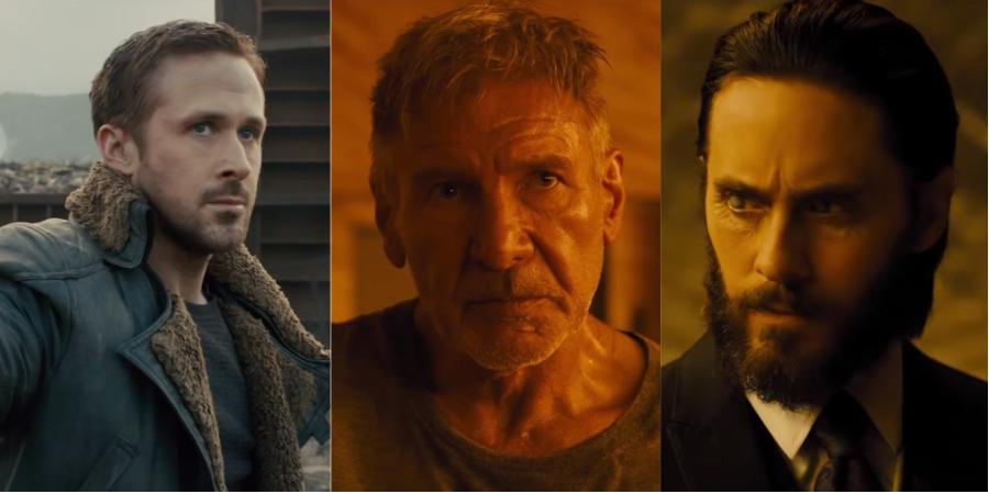 """Com Ryan Gosling; Harrison Ford e Jared Leto, """"Blade Runner 2049"""" ganha trailer alucinante! Vem ver"""