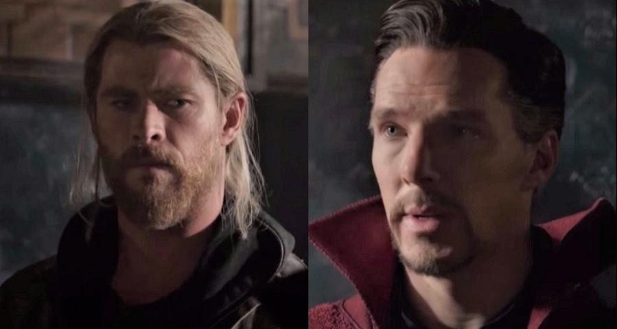 """""""Thor: Ragnarok"""": Doutor Estranho aparece conversando com o herói em novo trailer"""