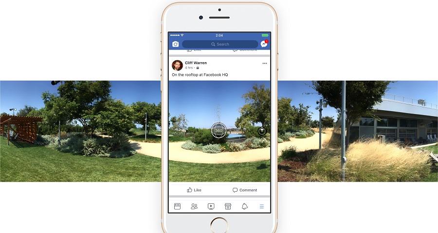 Facebook anuncia recurso que permite tirar fotos 360º direto do aplicativo