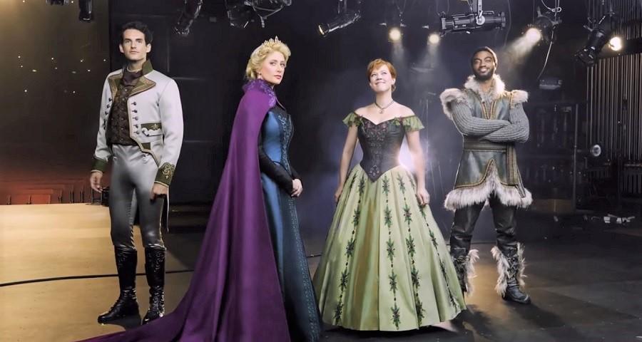 """Disney divulga figurinos dos atores do musical de """"Frozen"""" na Broadway; veja vídeo"""