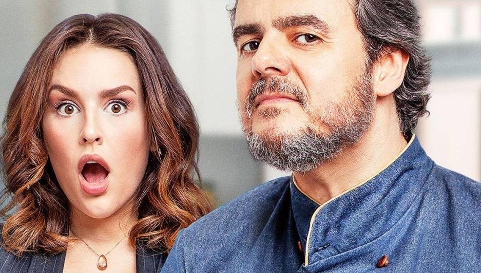 """""""Gosto se discute"""": Kéfera e Cassio Gabus Mendes tentam salvar restaurante falido em novo filme"""