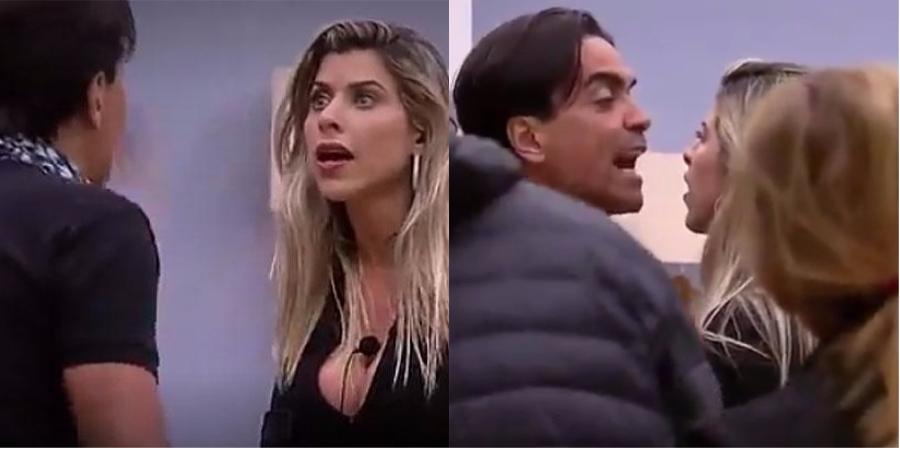 'A Fazenda': Fábio Arruda trava super barraco com Minerato: 'Marginal!'