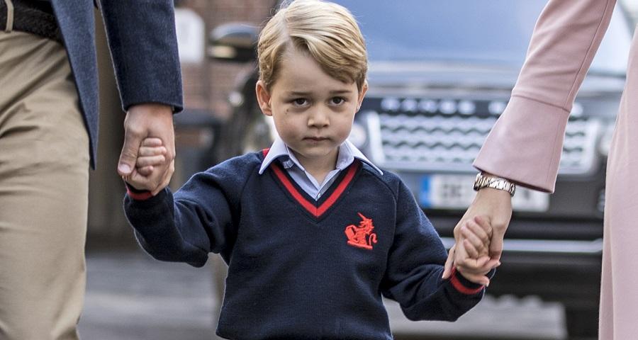 Diretor conta detalhes sobre o primeiro dia de escola do príncipe George