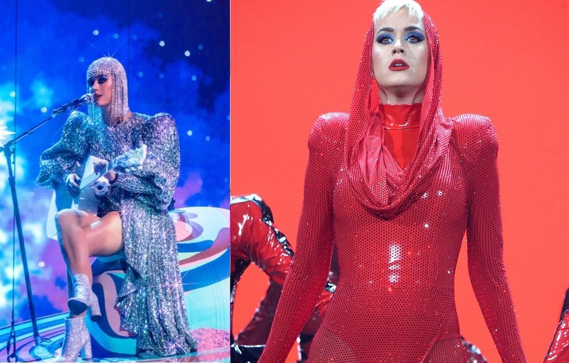 """Katy Perry estreia """"Witness Tour"""" com setlist poderoso e efeitos visuais; confira fotos e vídeos!"""