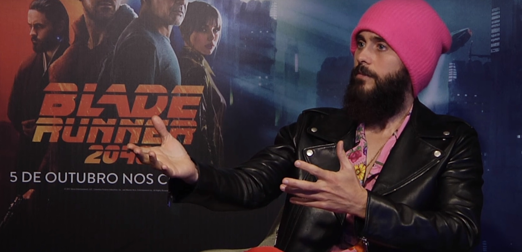 """Jared Leto conta tudo sobre """"Blade Runner 2049″ e mostra seu amor por açaí"""