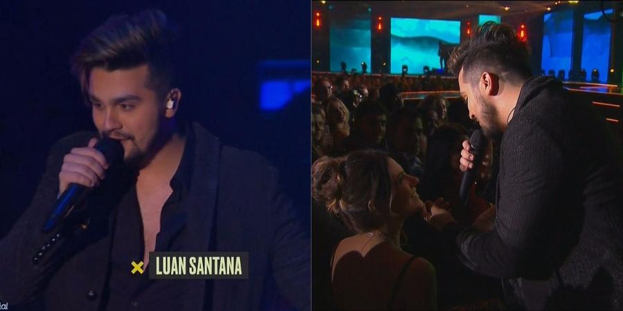 Prêmio Multishow: Luan Santana faz performance cheia de sucessos!