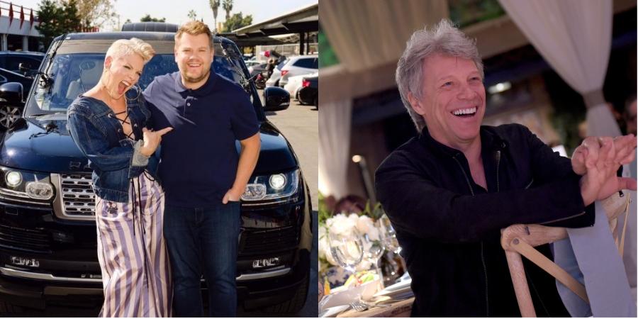 Pink revela presente inusitado de Jon Bon Jovi, seu crush de adolescência, e canta sucessos no 'Carpool'