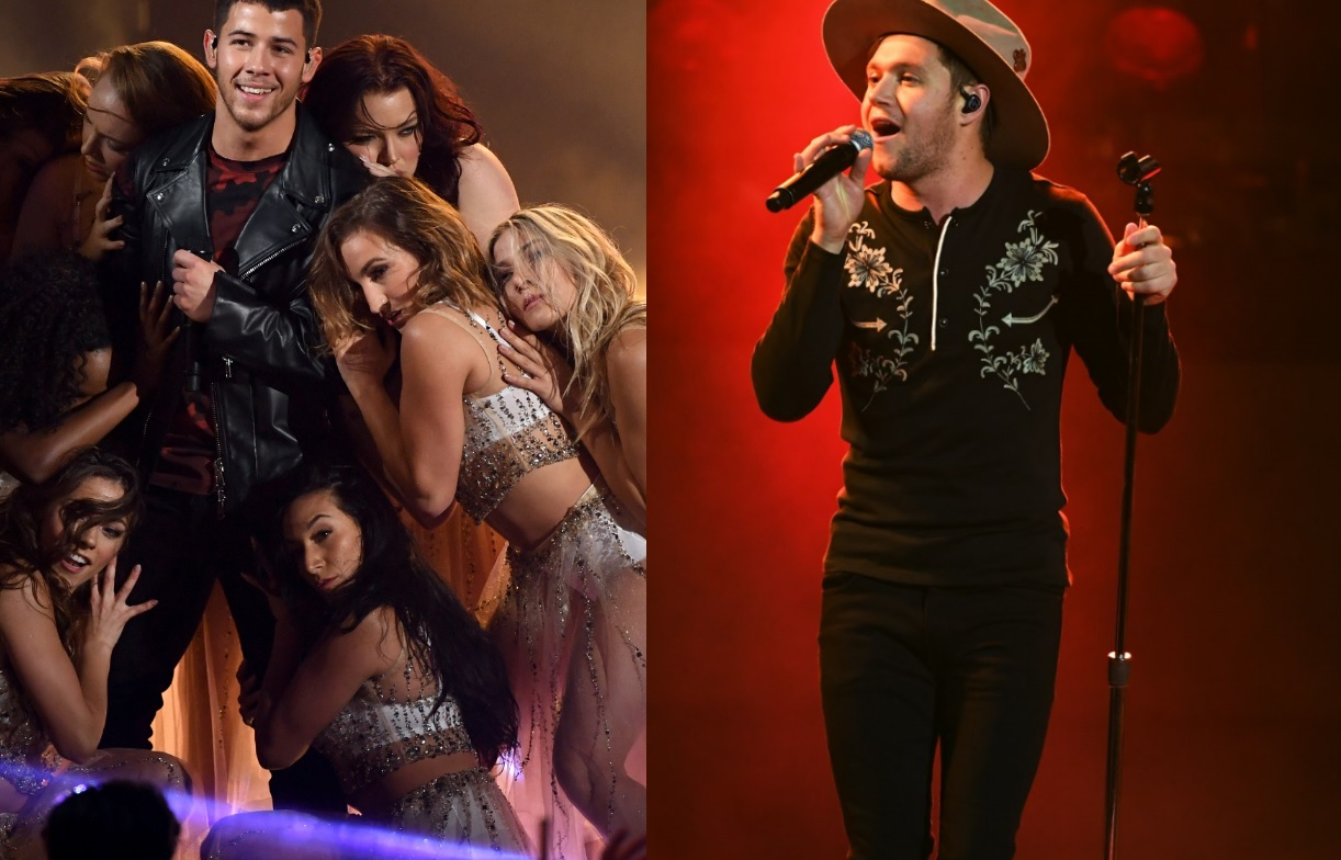 AMA 2017: Confira as performances babadeiras de Nick Jonas e Niall Horan