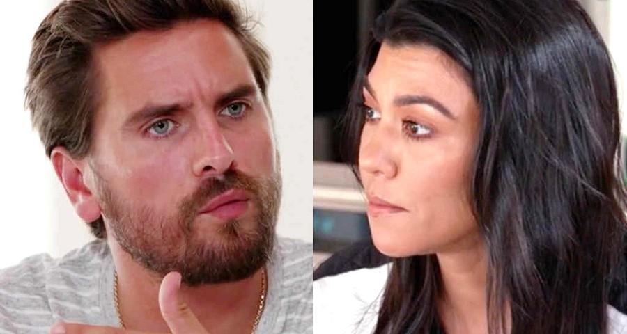 """Kourtney Kardashian revela """"surto"""" de Scott Disick ao saber do namoro com Younes Bendjima"""