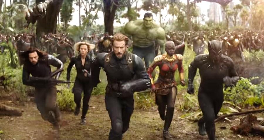 """""""Vingadores: Guerra Infinita"""": Capitão América e Viúva Negra lutam contra a Ordem Negra em cena inédita"""