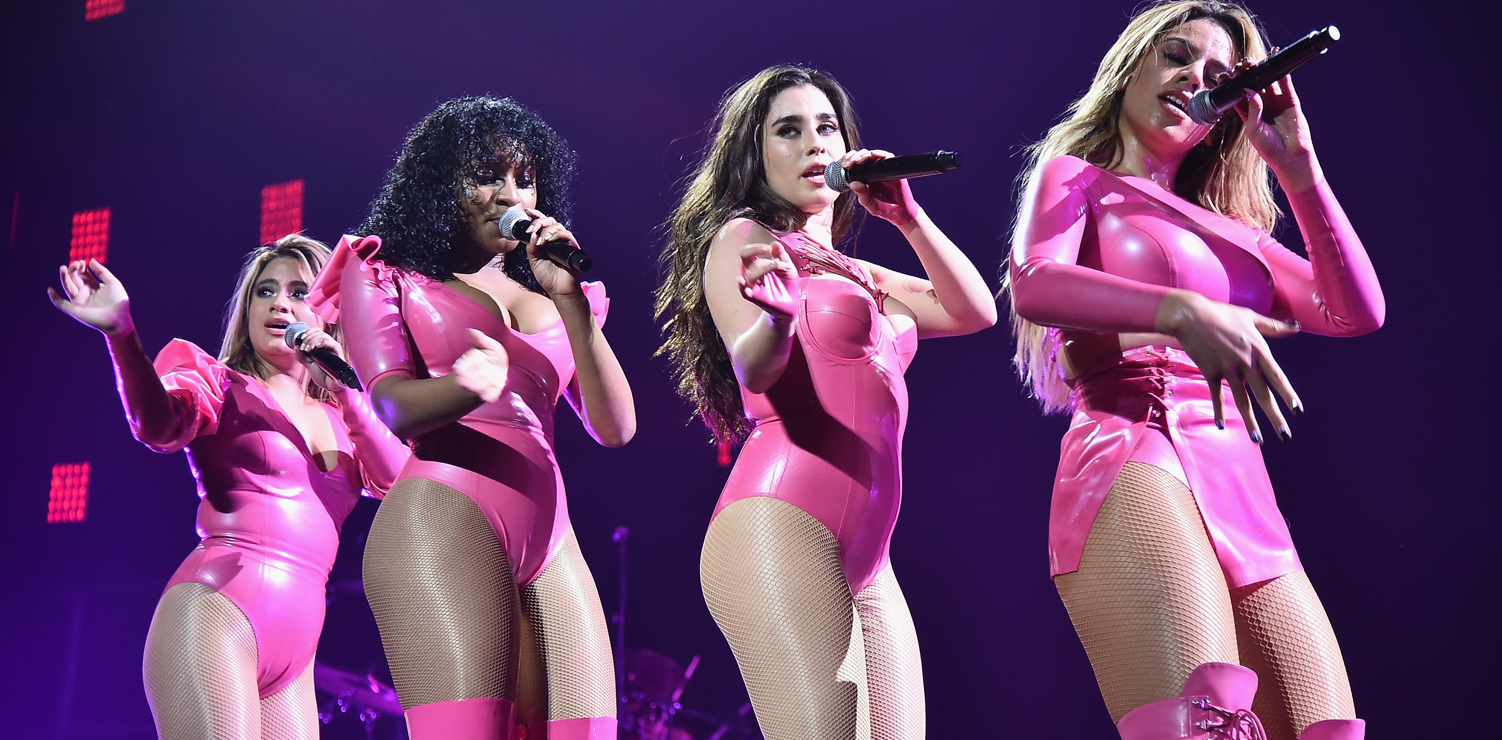 Fifth Harmony faz cover mara do hit 'Feels' de Katy Perry; Pharrell e Calvin Harris