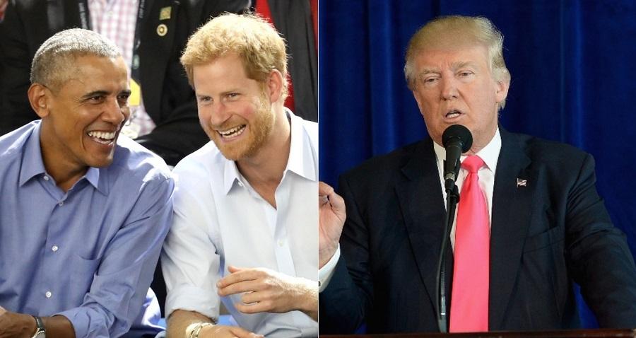 Casamento real: Governo britânico não quer que príncipe Harry convide Obama por conta de Donald Trump, diz jornal