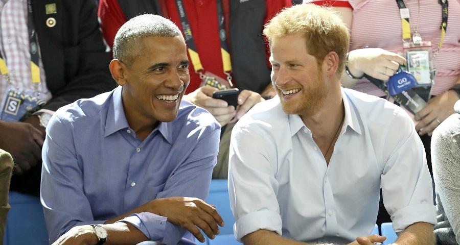 "Príncipe Harry comenta ""polêmica"" sobre convite ao casal Obama a seu casamento"