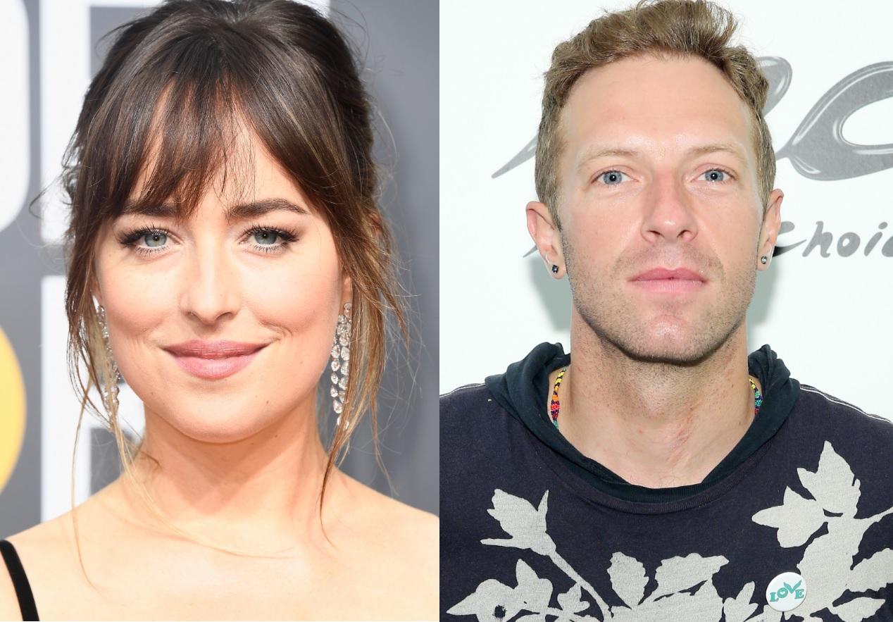 Novo casal? Dakota Johnson e Chris Martin, vocalista do Coldplay, são flagrados juntos em Malibu