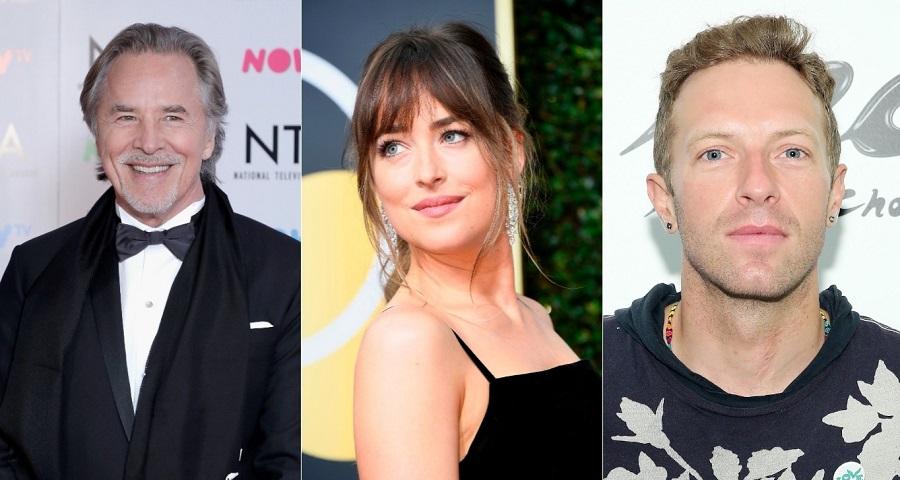Pai de Dakota Johnson brinca sobre boato de namoro da atriz com Chris Martin, do Coldplay