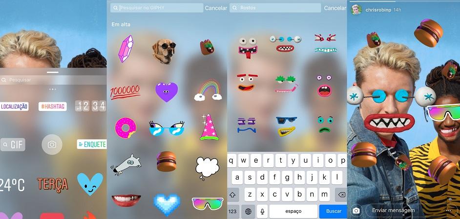 Novidade! Instagram anuncia recurso que permite usar GIFs nos Stories; saiba mais