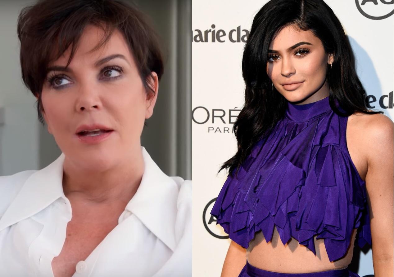 """Kris Jenner faz desabafo sobre exploração da """"situação"""" de Kylie: """"Eu realmente me sinto mal por ela"""""""