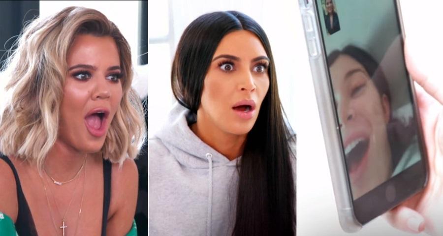 "OMG! Kardashians ficam surpresas com ""grande anúncio"" em teaser do ""KUWTK""; vem ver"