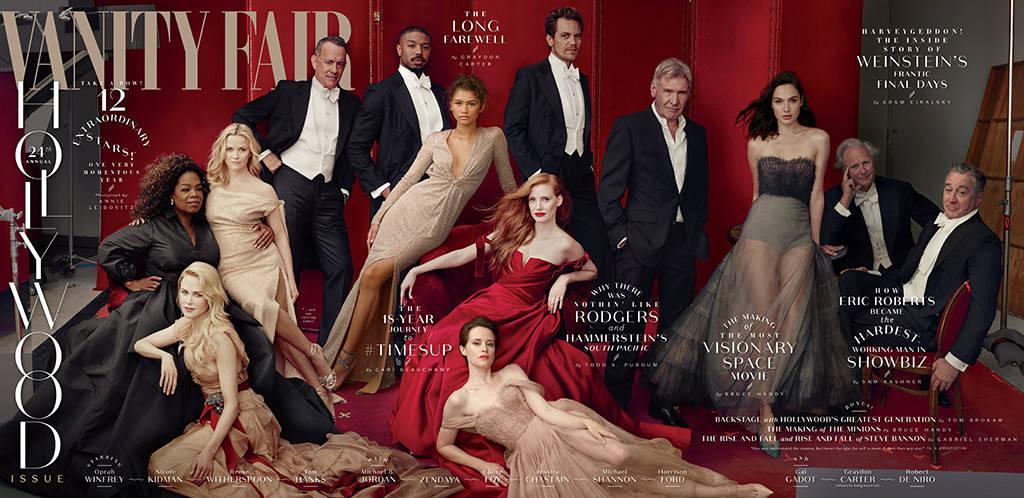 Vanity Fair erra no Photoshop e explica as três mãos de Oprah Winfrey e as três pernas de Reese Witherspoon