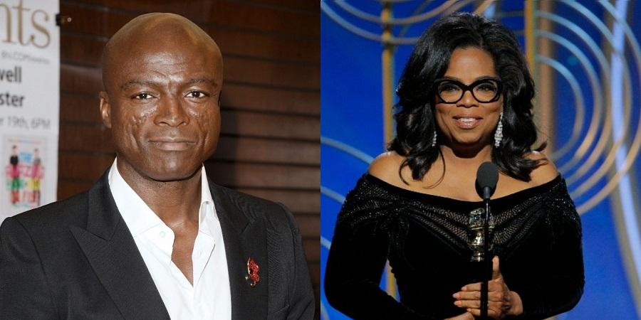 No Instagram, Seal insinua que Oprah sabia dos assédios de Harvey Weinstein