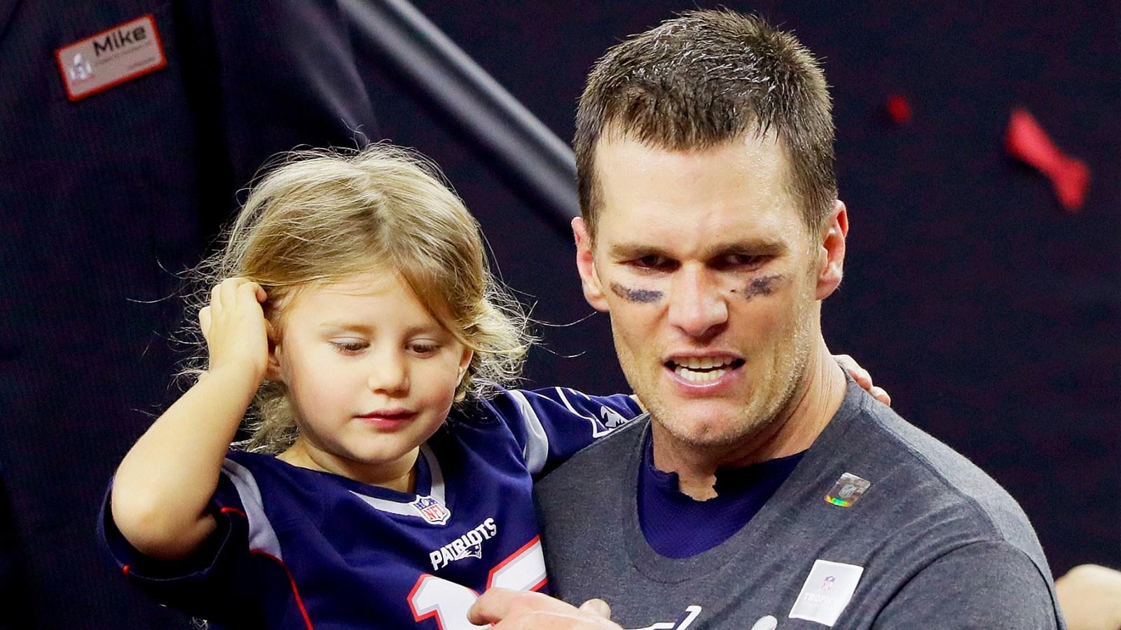 Tom Brady interrompe entrevista após comentário 'frustrante' de apresentador sobre sua filha