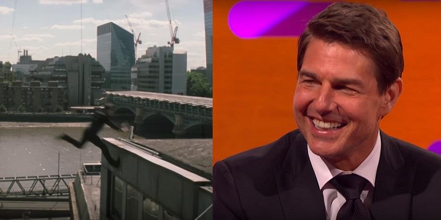 """""""Missão Impossível 6"""": Vídeo dos bastidores mostra momento em que Tom Cruise quebra o tornozelo"""
