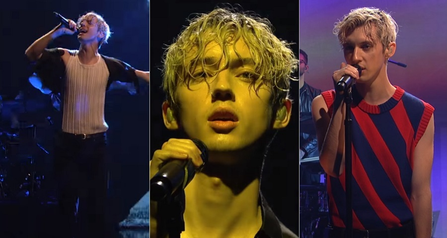 "Troye Sivan arrasa em performances de ""My My My"" e ""The Good Side"" no ""SNL"""